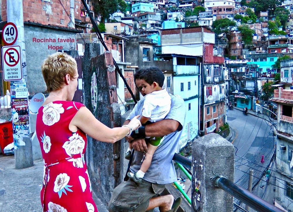 -Meeting Rocinha favela locals