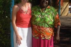 Meeting with Aboriginal community members