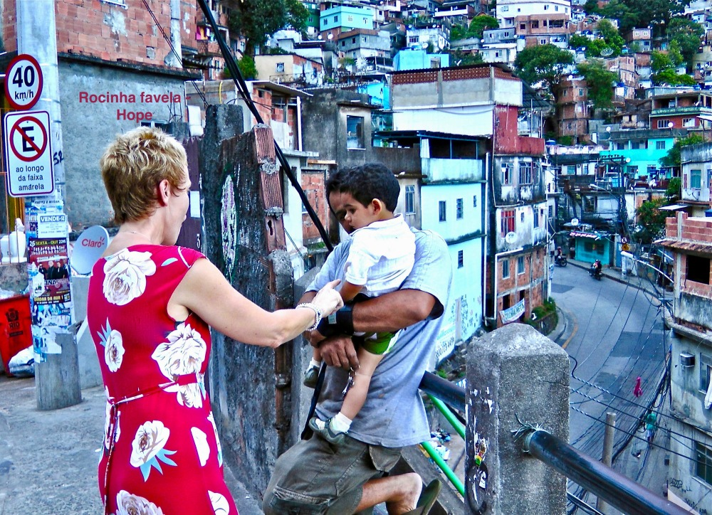 -Meeting Rocinha favela locals